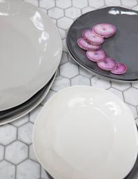 Stoneware Plate Slate, Medium 5