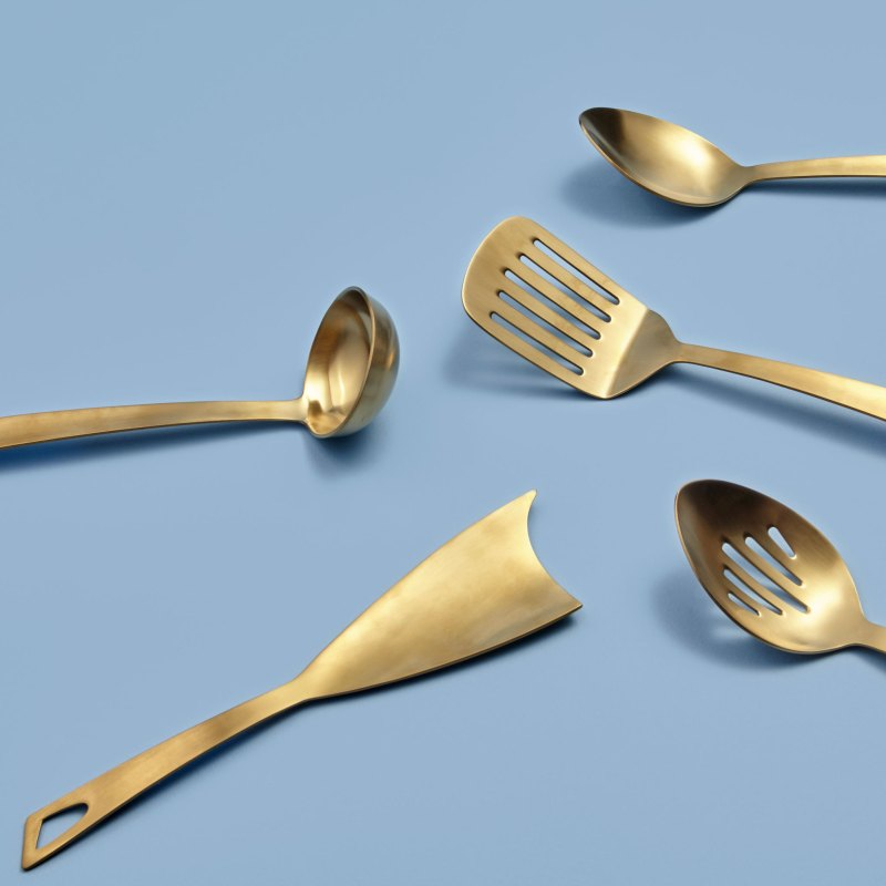 Gold Mixing Spoon