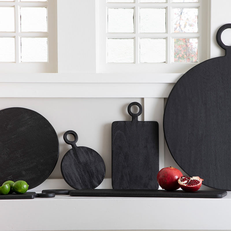 be home material black mango wood