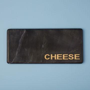 "Marine Black Marble ""Cheese"" Board"