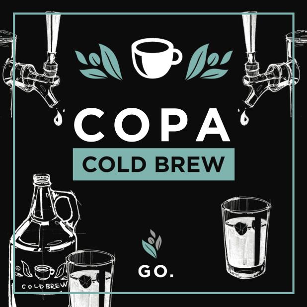 Copa Vida Cold Brew – 3lb Bag