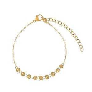 Bracelet coins gold