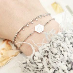 Bracelet leaf