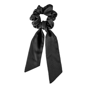 Scrunchie ribbon black