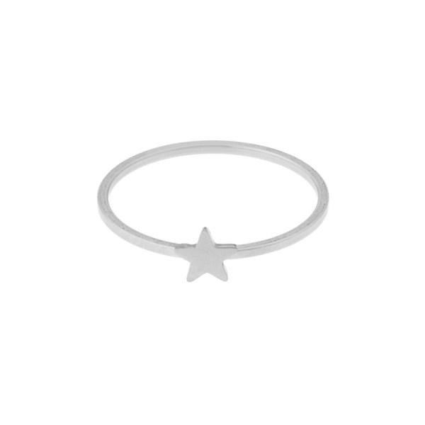 Ring star silver