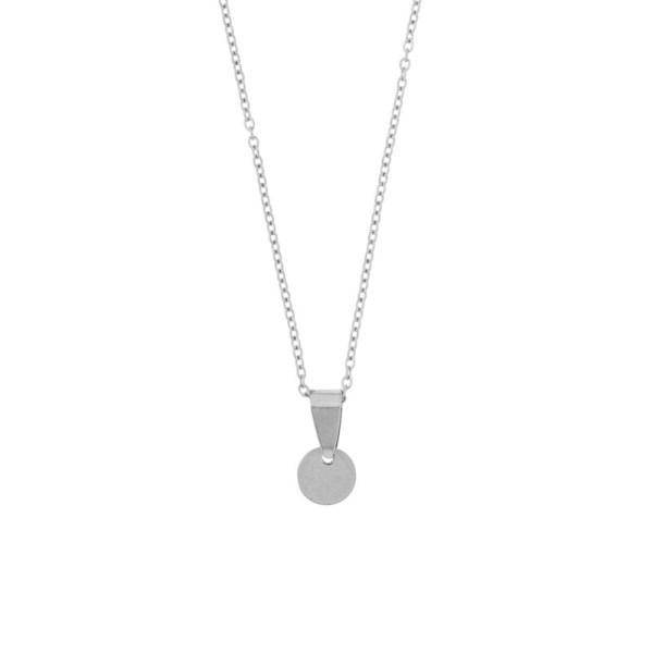 Necklace coin silver