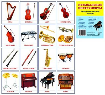 Все Музыкальные Инструменты Фото И Названия