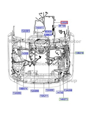 NEW OEM ENGINE TRANS WIRING 20062007 FORD F250 F350 F450