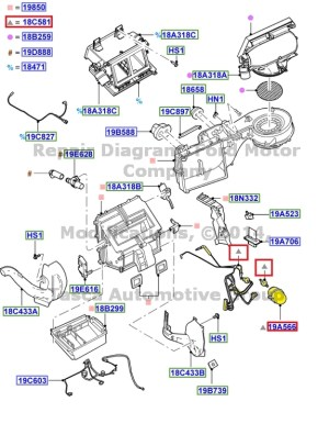 NEW OEM MANUAL AC & HEATER VACUUM HOSE HARNESS EXPLORER