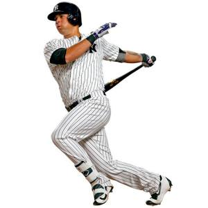 New York Yankees Gary Sanchez Fathead Life Size Removable Wall Decal