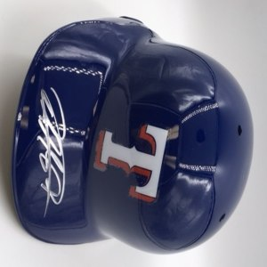 Rougned Odor Autographed Rangers Batting Helmet
