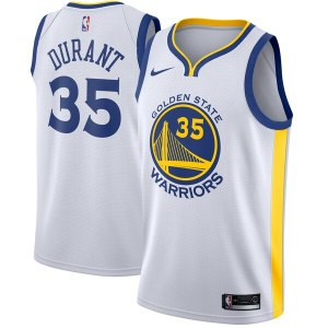 Men's Golden State Warriors Kevin Durant Nike Whit wholesale Warriors home jerseys