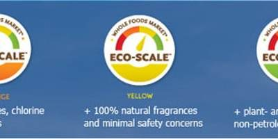 Whole Foods Green Cleaning Products Eco-Scale Rating System