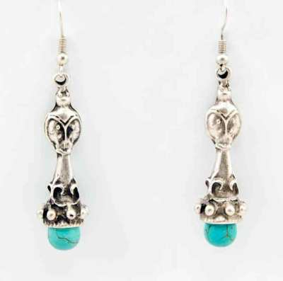 Wholesale turquoise earrings.