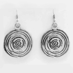 Wholesale spiral earrings