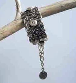 Wholesale chunky silver bracelet.