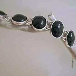 Black rock bracelet