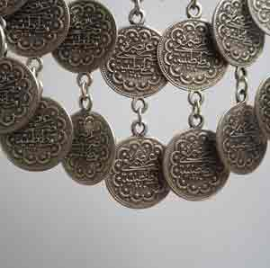 Wholesale coin necklace.
