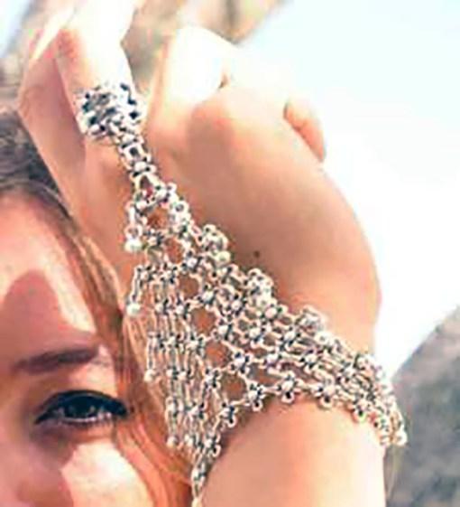 Cage Ring Bracelet