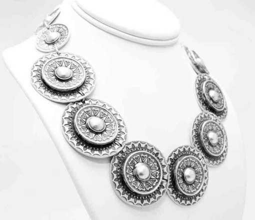 Turkish zamak necklace