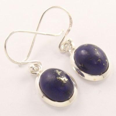 Wholesale lapis lazuli gem earrings.