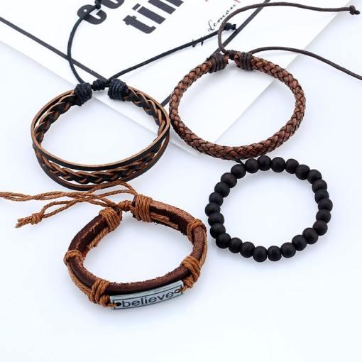 Wholesale believe layer bracelet