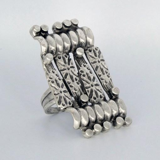 Silver turkish ring