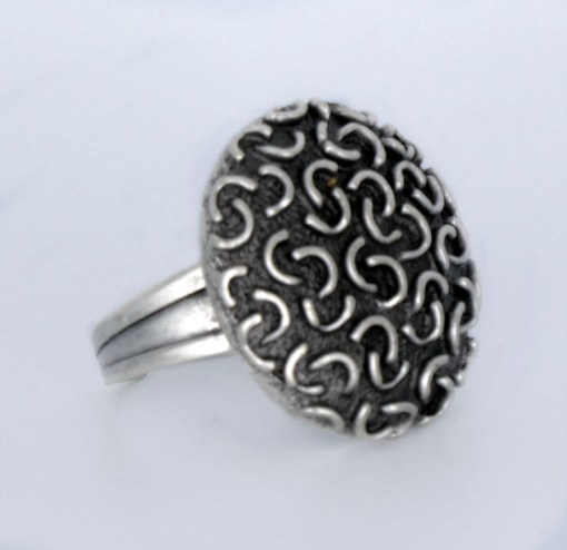 Wholesale silver dome ring