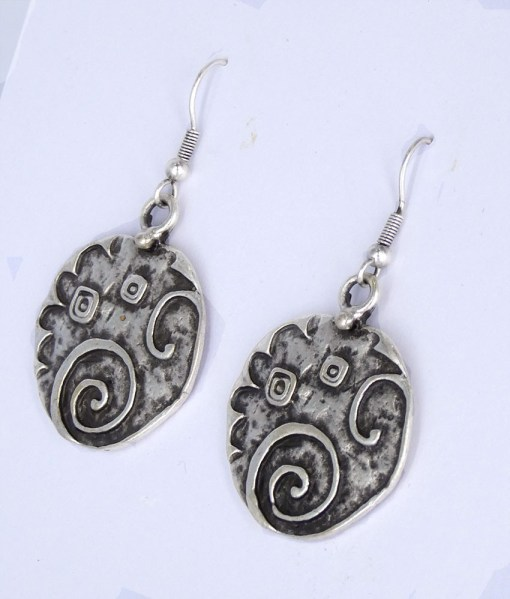 Silver wholesale earrings