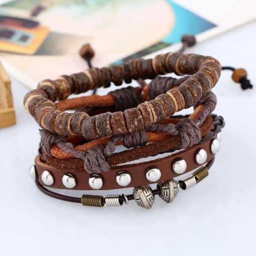 Wholesale leather bracelet