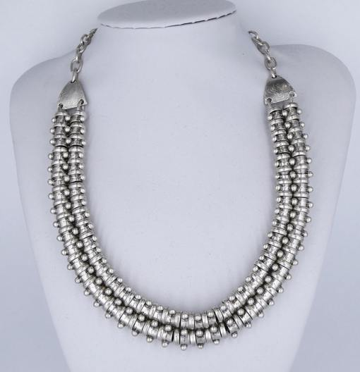 Strong silver wholesale necklace