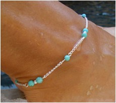 Sterling silver wholesale anklet