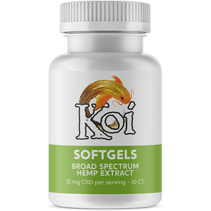 KOI CBD Softgels Regular