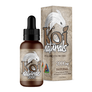 Koi Naturals Full Spectrum CBD Tincture Natural 2000mg Combo