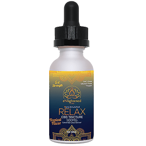 eNlightened Nano CBD Relax Tincture