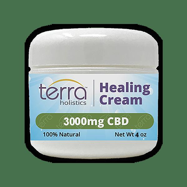 Terra Holistics Broad Spectrum CBD Pain Cream 3000mg 4oz
