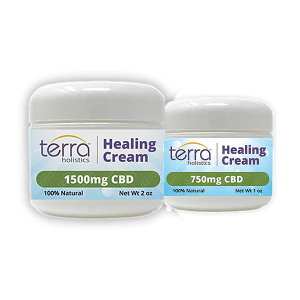 Terra Holistics Broad Spectrum CBD Pain Cream