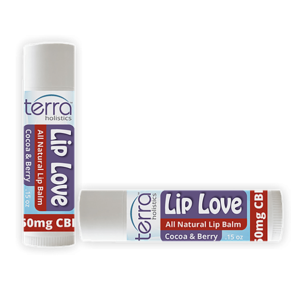 Terra Holistics CBD Lip Balm Berry