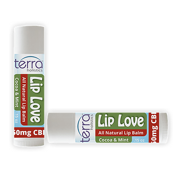 Terra Holistics CBD Lip Balm Mint
