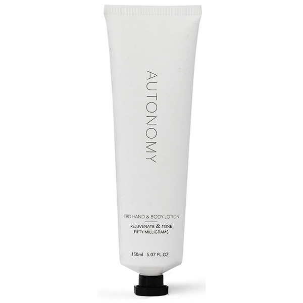 Autonomy CBD Hand and Body Lotion Front