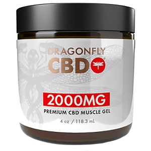 Dragonfly Muscle Gel 2000mg 4oz