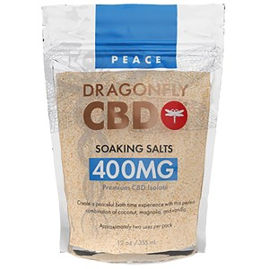 Dragonfly Soaking Salts Peach 400mg