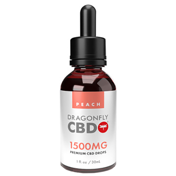 Dragonfly Tincture Peach 1500mg