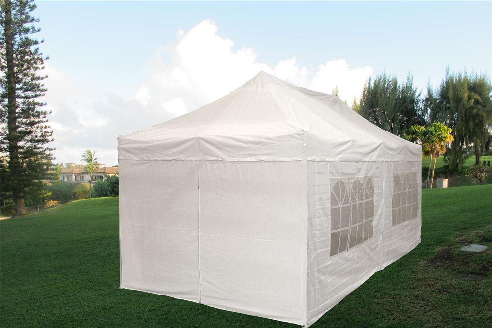 10 X 20 Pop Up Tent Canopy Gazebo W Sidewalls 9 Colors