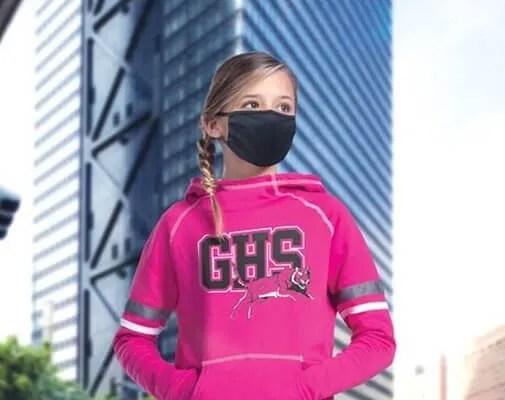 bulk youth polyester facemasks
