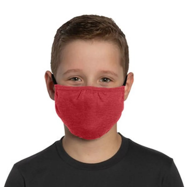 bulk kids face masks red