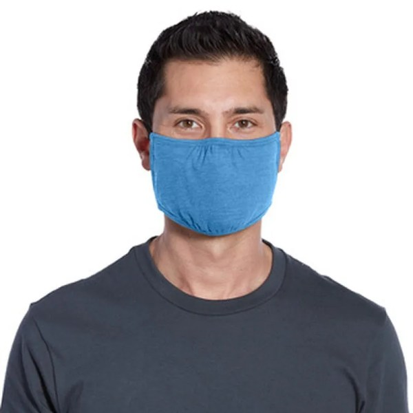 wholesale cloth face masks blue
