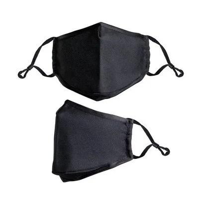black version of bulk custom logo face mask