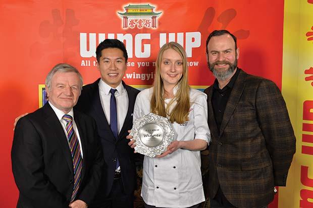 L-R-Peter-Griffiths-MBE,-Larkin-Cen,-2015-winner-Gemma-Field,-Glynn-Purnell[3]