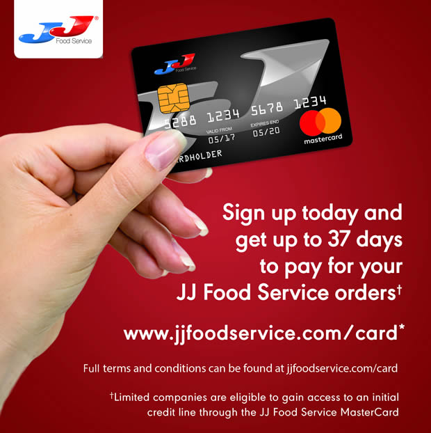 Jj supports caterers with business credit card wholesale manager jj supports caterers with business credit card wholesale manager the news magazine for the uk wholesale and cash carry industry reheart Choice Image